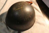 Swedish M37 Military Steel Helmet Vintage