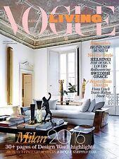 Vogue Living Australia August 2016 Design,Architecture,Interiors,Decorating