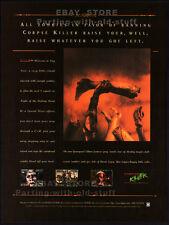 CORPSE KILLER : Graveyard Edition__Original 1995 Print AD / game promo__ZOMBIES