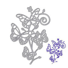 Metal Butterfly Cutting Dies Stencil DIY Scrapbooking Album Card Embossing Craft