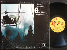 KENNY BURRELL God Bless The Child LP CTI 6011 US 1971 JAZZ RVG Freddie Hubbard