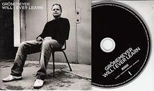 HERBERT GRONEMEYER Will I Ever Learn 2012 German 2-track promo CD Antony Hegarty