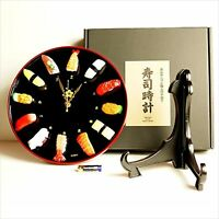 CL27S SUSHI CLOCK Food Sample Made in Japan Kitamura sample F/S from JAPAN