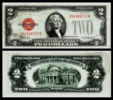 1928-D $2  Red Seal United States Note~~XF