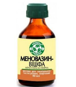 Menovasin 40 ml (Меновазин Menovasinum)