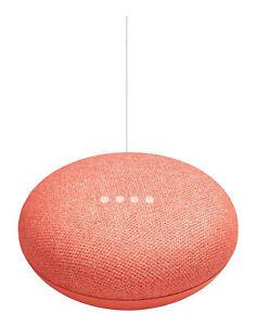Google Home Mini Smart Speaker with Google Assistant - Coral (GA-00217-US)