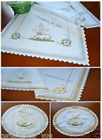 EASTER AMAZING TABLECLOTH/TABLE RUNNER NAPKIN DOILY FOR YOU FREE P&P