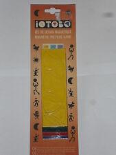 mosaïque, jeu de dessin (iotobo) caoutchouc magnétique (40 pièces de 35mm) (b)
