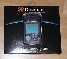 Sega Dreamcast BLACK VMU Visual Memory Unit New Original in Box Never Used !!!
