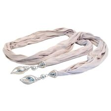 Jewel Scarf Shells - Ivory