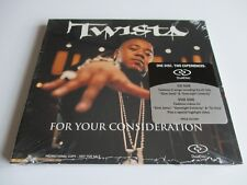 TWISTA FOR YOUR CONSIDERATION DUAL DISC CD/ DVD Promo Only 2004 PRCD 301584 NEW