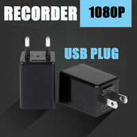 Spy Camera Adapter Charger Phone Wireless WiFi Hidden Camera US Plug