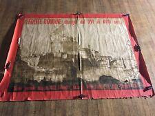 "Vintage Original  ""Vedute Romane"" Poster  Print 1971 Rare Italy Large Travel Art"