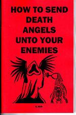 HOW TO SEND DEATH ANGELS UNTO YOUR ENEMIES book S. Rob black magic magick