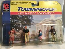 Life Like G Scale Hand Painted Townspeople Figures #1173