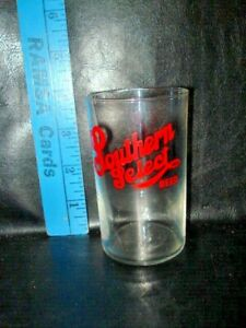 """Vintage SOUTHERN SELECT BEER 4"""" Glass, Excellent, Texas"""