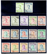 THAILAND 1972 - 1977 Definitive FU (Japan Print)
