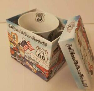 USA Route 66 Collectable Porcelain Mug Boxed