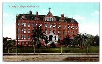 Early 1900s St. Mary's College, Oakland, CA Postcard