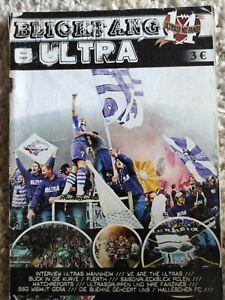 Fanzine Blickfang Ultra 14, Ultras Mannheim Waldhof, Wismut Gera, Frankfurt,