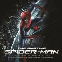 JAMES HORNER - THE AMAZING SPIDER-MAN/OST  CD NEU HORNER,JAMES SOUNDTRACK