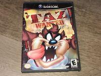 Taz Wanted Nintendo Gamecube Complete CIB Authentic