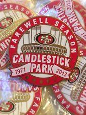 San Francisco 49ers Farewell Season Collector Pins