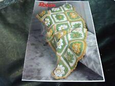 Robin Aran Throw Crochet Pattern 3022