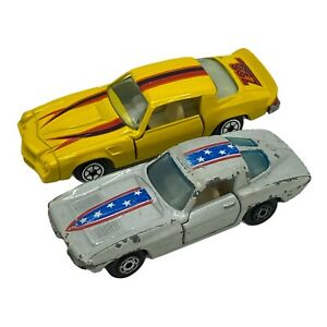 Vintage Yatming 1/64 Diecast Hong Kong - Z28 and Corvette
