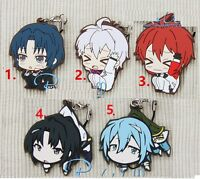 New IDOLiSH7 Trigger Vivimus Character Rubber Strap Phone Charm Keychain Gift