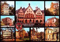 Frankfurt am Main , Patrizierhäuser , Ansichtskarte