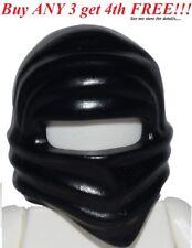 ☀️NEW Lego City Boy/Girl Minifig Hat Black Ninjago ninja Cole Headwrap Scarf