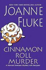 Cinnamon Roll Murder by Joanne fluke Unabridged MP3 CD [Hannah Swensen Mystery S