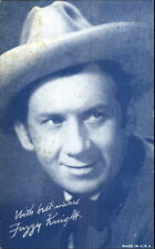 Cowboy Actor George Fuzzy Exhibit Postcard myn