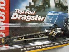 Auto World 4-Gear Top Fuel Dragster Slot Car ~ US Army