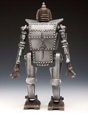 """""""Bob"""" The Robot Coin Bank Collectible Handmade Bronze Aluminum Metal Nelles 12""""H"""