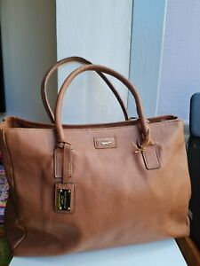 MASSIVE PAUL COSTELLOE BROWN REAL LEATHER SHOULDER/SHOPPER BAG