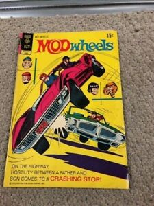 VINTAGE  Gold Key Bronze Age Comics Mod Wheels No. 6 June 1972- LOOK NOW- B126