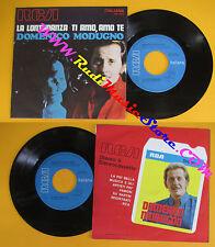 LP 45 7'' DOMENICO MODUGNO La lontananza Ti amo te 1970 italy RCA no cd mc dvd*
