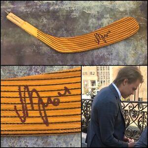 GFA Nashville Predators MIKAEL GRANLUND Signed Hockey Stick Blade PROOF COA