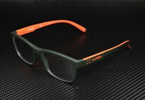 ARNETTE Williamsburg AN7171 2618 Matte Dk Green Demo Lens 54 mm Men's Eyeglasses