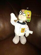 "2003 Nanco Spongebob Squarepants Sandy Cheeks Soft Plush Stuffed Doll approx 9"""