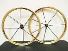 Rolf Vector Pro Road Bike Gold Wheelset 700c 8/9/10 Spd Clincher USA Shimano A++