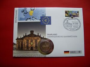 Germany 2009 Numismatic Saarland Ludwigskirche