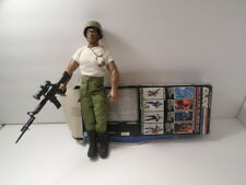 "GI JOE BASIC TRAINING HEAVY DUTY HALL OF FAME 12"" ACTION FIGURE w/dog tags"