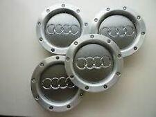 x4 AUDI A4 A6 S6 RS6 TT 146mm WHEEL BADGES CENTER CAPS RIM HUB CAP 8D0601165K