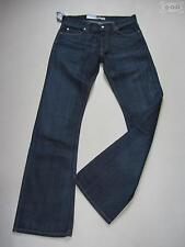 L32 Indigo -/Dark-Wash Herren-Bootcut-Jeans mit niedriger Bundhöhe (en)
