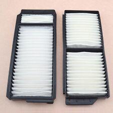 2pcs/set High Quality White Cabin Air Filter Fit For Mazda 3 Mazda 5 BP4K-61-J6X