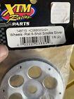 Xtm 148715 Silver Wheels Rail 6-shot Smoke Silver (2)  RC Part Rims
