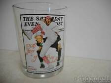 100Th Year Baseball Glass Norman Rockwell The Saturday Evening Post The Wind Up